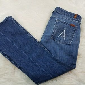 7 For All Mankind 7 FAM Bootcut Denim Jeans